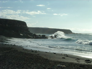 Plaža Fuerteventura na Kanarskim ostrvima www.freeimages.com