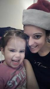 Marina sa svojom ćerkom Nađom
