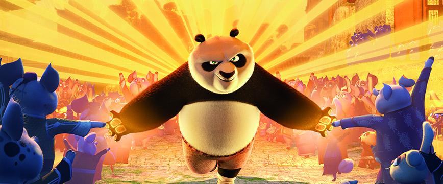 Kung Fu Panda je opet u akciji