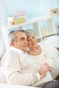 Portrait of an attractive senior couple