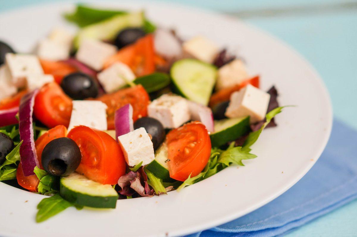 Grčka salata je idealan obrok