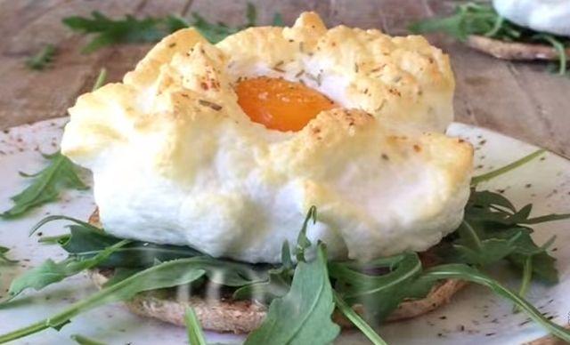 Jaja u oblacima, specijalitet za 40 dinara