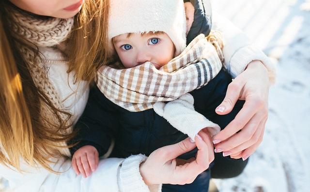 Saveti za zimske šetnje sa bebom