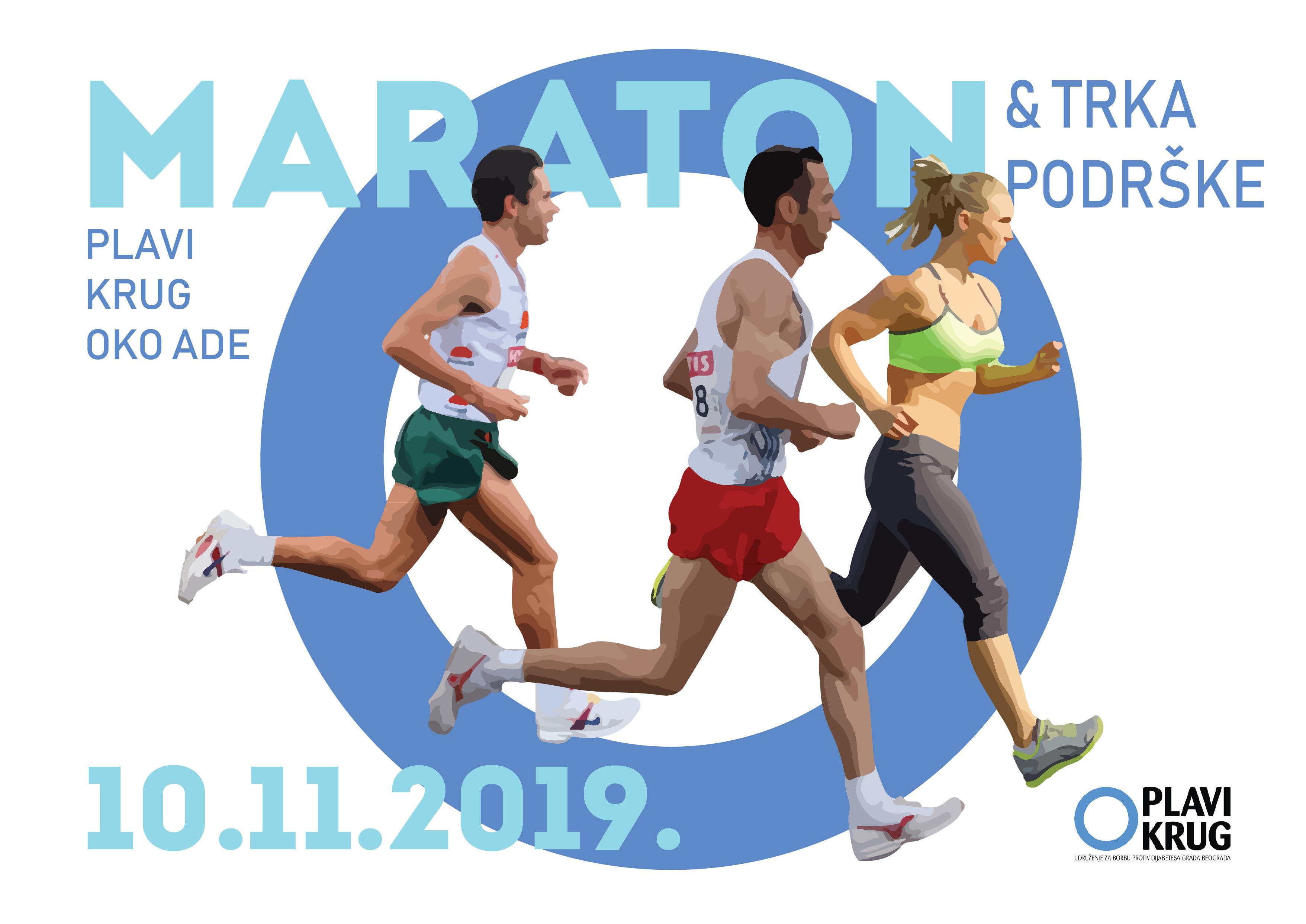 Plavi krug– maraton i trka podrške obolelima od dijabetesa