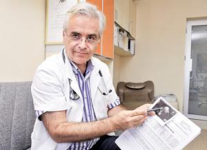 Prof. dr Arsen Ristić, kardiolog, načelnik Odeljenja za srčanu insuficijenciju i pomoćnik direktora Klinike za kardiologiju Kliničkog centra Srbij