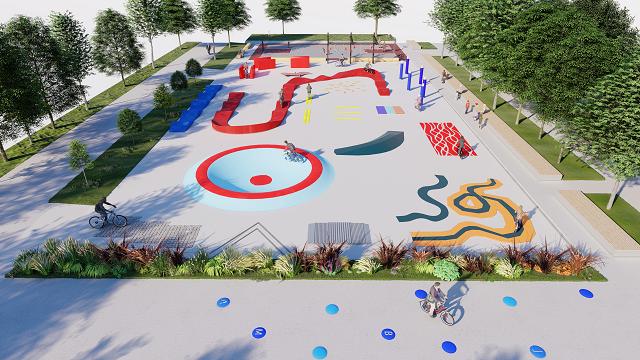 Prvi park za bicikle u Evropi
