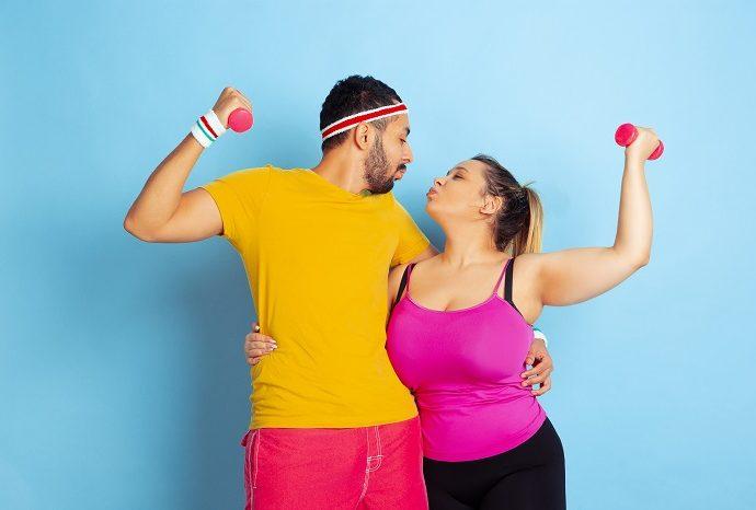 Muškarci koji imaju punačke partnerke navodno srećniji