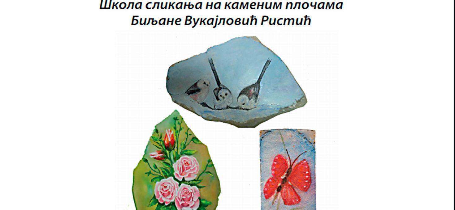 """Izložba """"Slikanje na kamenu"""": Svaki rad nosi deo duše"""