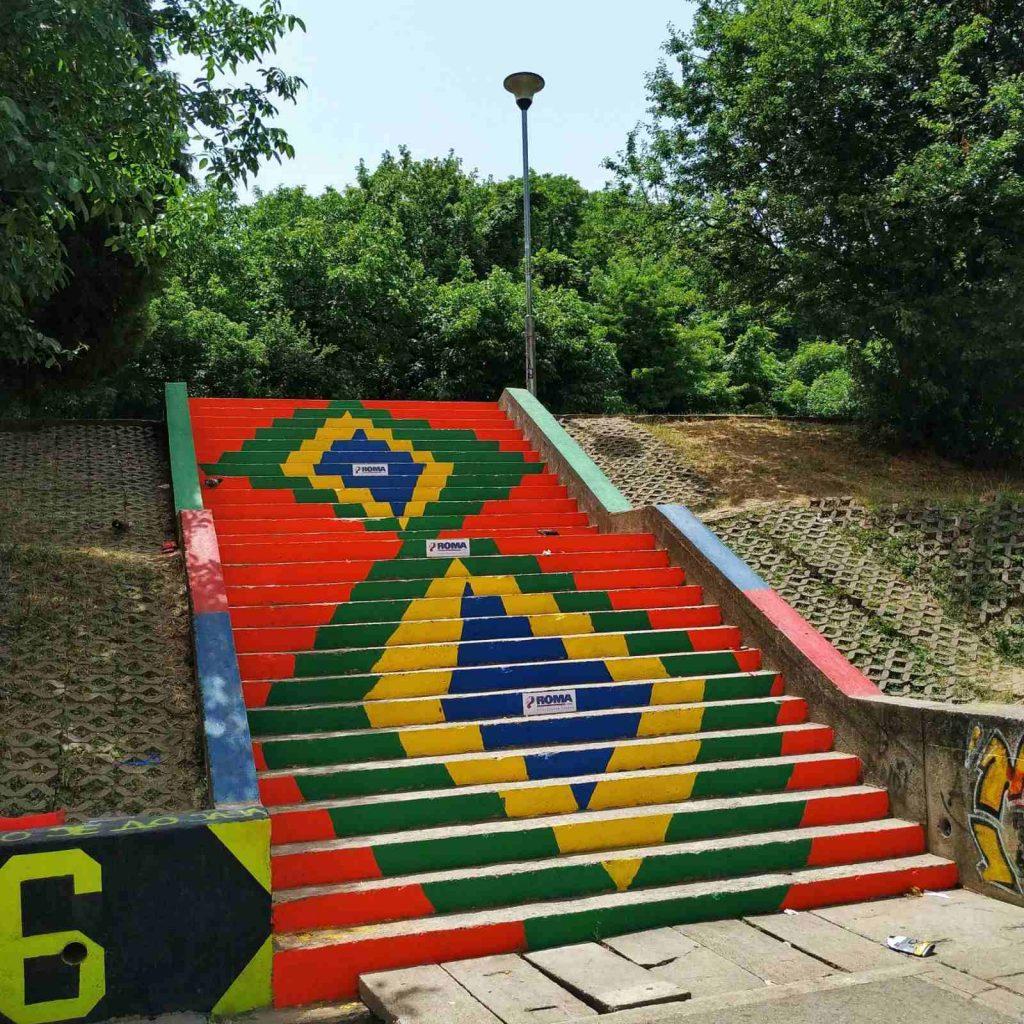 Pametne stepenice, poklon za kraj školske godine
